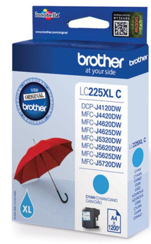 Brother LC225XL Cyan Ink Cartridge