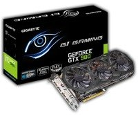 Gigabyte GTX 980 G1 GAMING 4GB GDDR5 Dual DVI HDMI 3 DisplayPort PCI-E Graphics Card