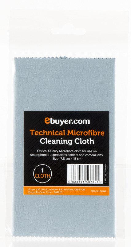 Ebuyer.com Optical Grade Technical Microfibre Cloth