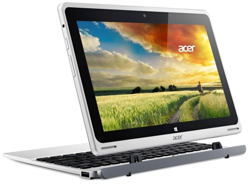 "Image of Acer Aspire Switch 10 SW5 Convertible Laptop, Intel Atom Z3735F 1.33GHz, 2GB RAM, 32GB Flash, 10.1"" Touch, Intel HD, Camera, Bluetooth, Windows 8.1 + Bing"