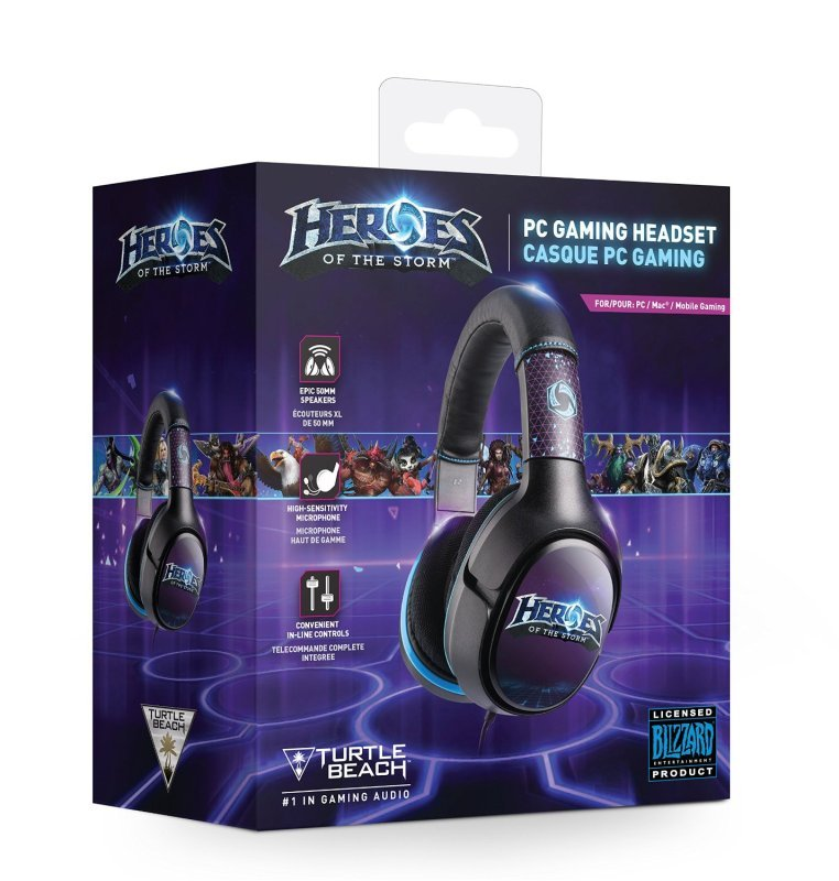 Turtle Beach Blizzard Heroes of the Storm PC Headset