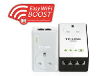 TP-Link TL-WPA4230PKIT AV500 Passthrough Powerline WiFi Kit
