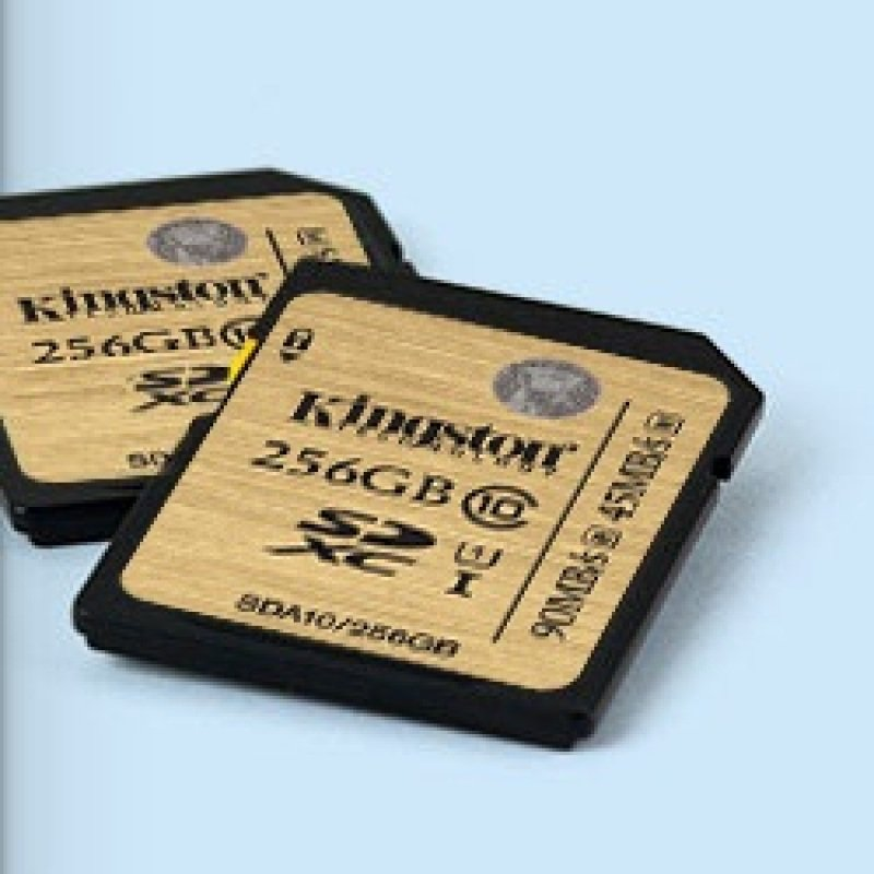 Kingston 256GB SDXC Class 10 Flash Card