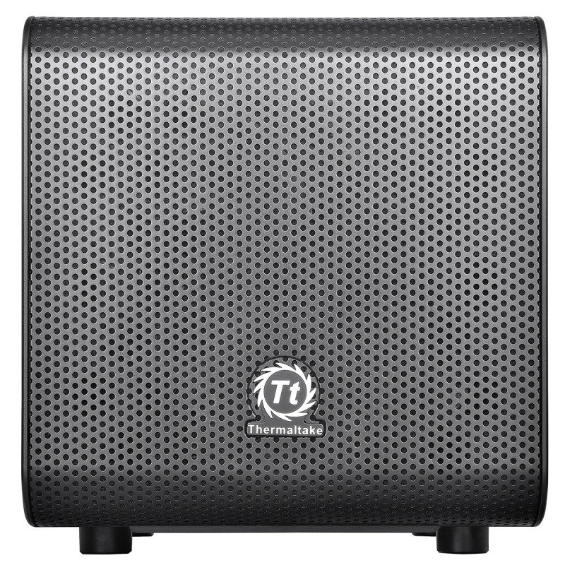 Thermaltake Core V1 Mini-ITX Cube Case Front 20cm Fan 2 x USB3 Side Window