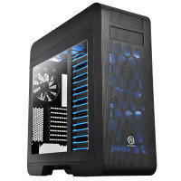 Thermaltake Core V71 Tower Gaming Chassis Fully Modular E-ATX 3 x 20CM LED Fan