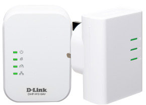 D-Link DHP-W311AV 500Mbps Wireless-N Powerline Kit