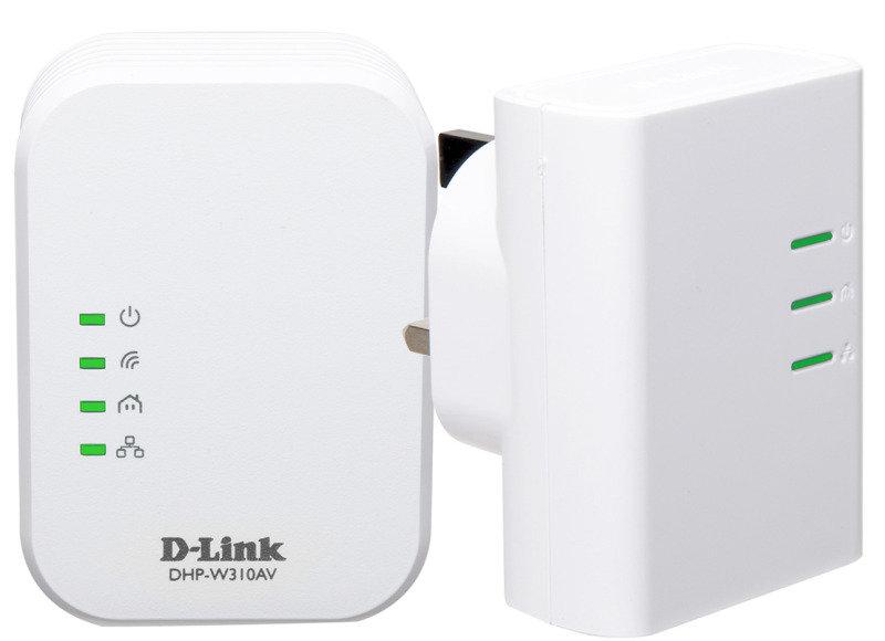 DLink DHPW311AV 500Mbps WirelessN Powerline Kit