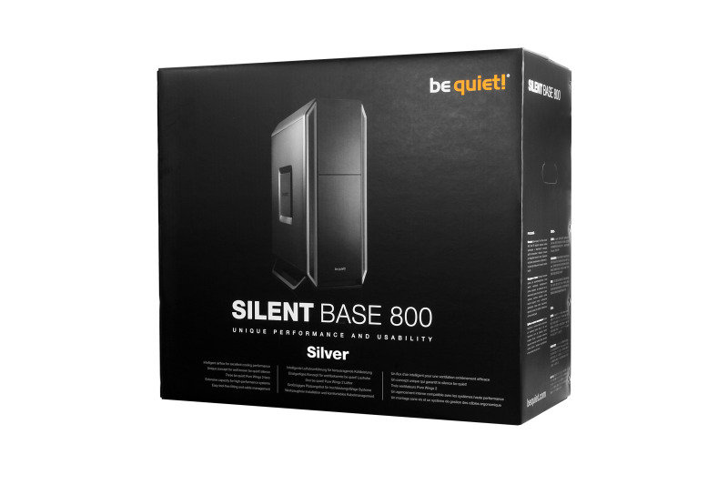 Be Quiet Silent Base 800 Silver Gaming Case