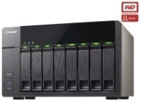 QNAP TS-851 24TB (8 x 3TB WD Red Pro) 8 Bay Desktop NAS