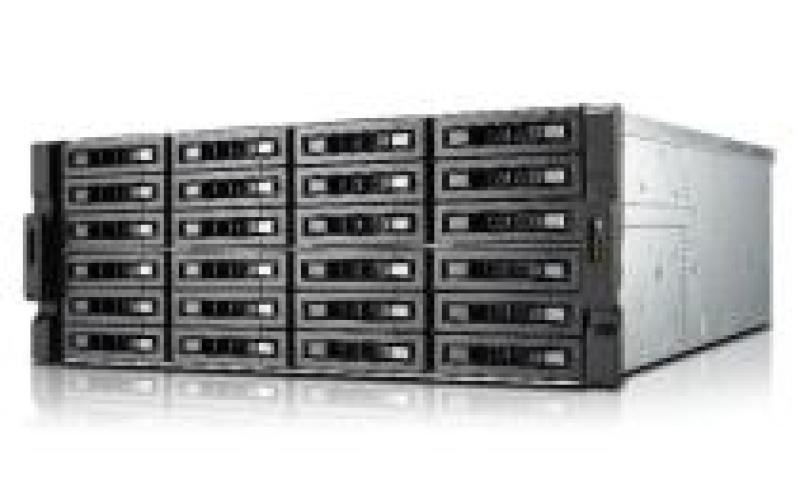 QNAP TS-EC2480U-RP 144TB (24 x 6TB Hitach Ultrastar) 24 Bay 4U NAS