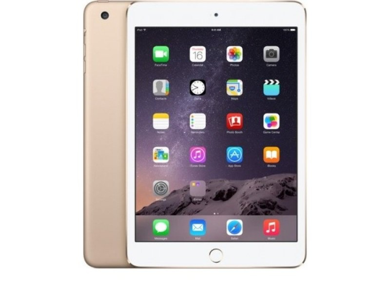 "Image of Apple iPad Mini Cellular - Gold, A5 Dual Core CPU 64GB Flash + iOS 7.9"" MultiTouch IPS Display Wifi + BT + Cellular iSight + FaceTime Cameras"