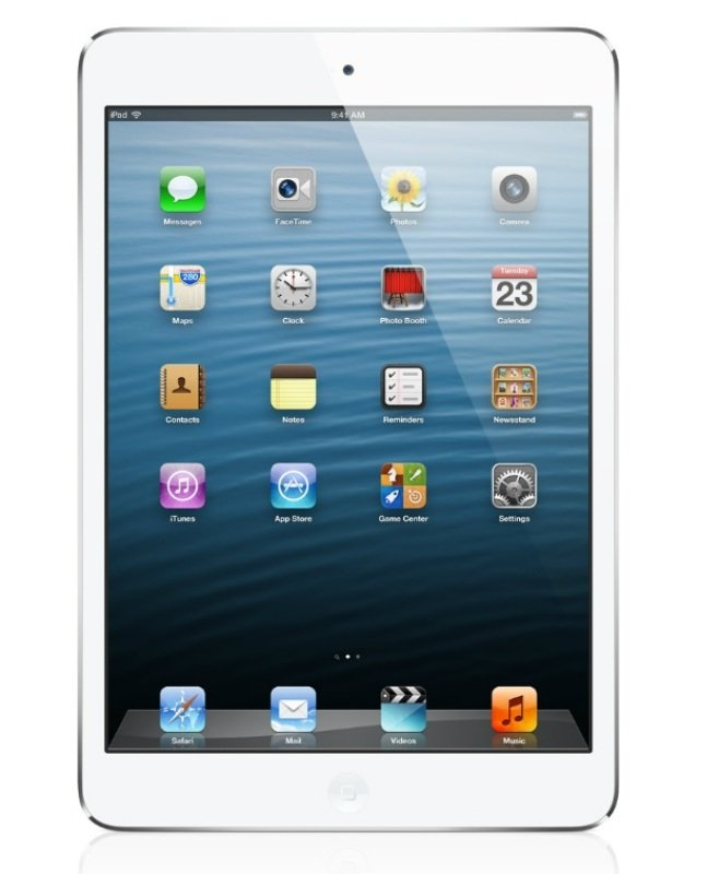 "Image of Apple iPad Mini 3 Cellular, A7 chip, 128GB Flash, 7.9"" Retina, Wifi, Cellular, Bluetooth, 2 Cameras, Apple iOS - Silver"