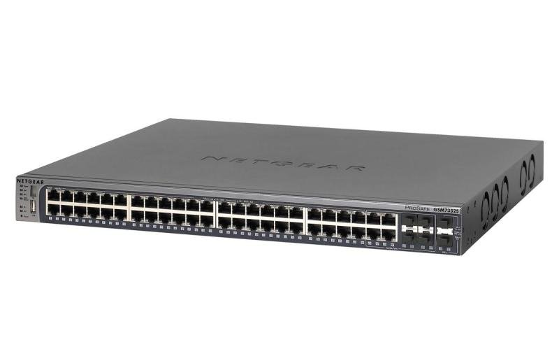 Netgear ProSafe Next-Gen Edge Managed Switch M5300-52G 48 ports