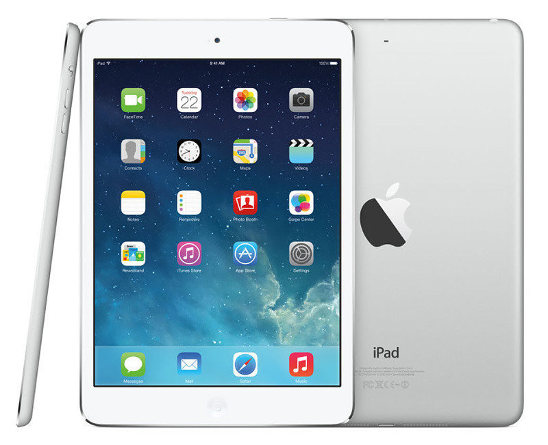"Image of Apple iPad Air 16GB Wifi, A7 CPU Chip, 16GB Flash, 9.7"" Retina Display, Wifi, Bluetooth, 2 Cameras, Apple iOS 9 - Silver"