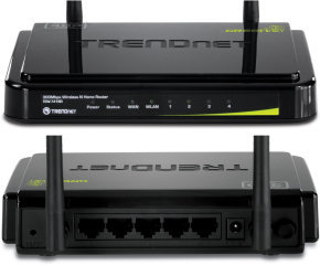 Trendnet Tew-731br 300mbps Wireless N Home Router Black (v1.0r)