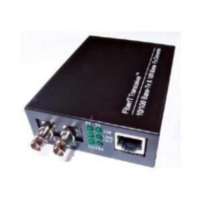 Dynamode INSIXTMC100ST Media Converter (10/100 Ethernet to 100BASE-FX Multi Mode Fibre, ST Connector)