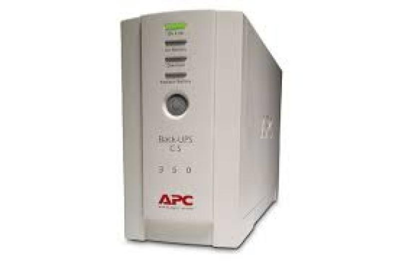 EXDISPLAY APC Back-UPS CS 350 AC 230V 210W  350VA  RS-232 / USB  4 Output Connectors