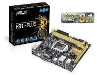 Asus H81I-PLUS H81 Socket 1150 VGA DVI HDMI 8 Channel Audio MiniITX Motherboard