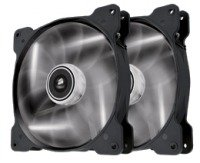 Corsair Air Series SP140 LED White High Static Pressure 140mm Fan Twin Pack