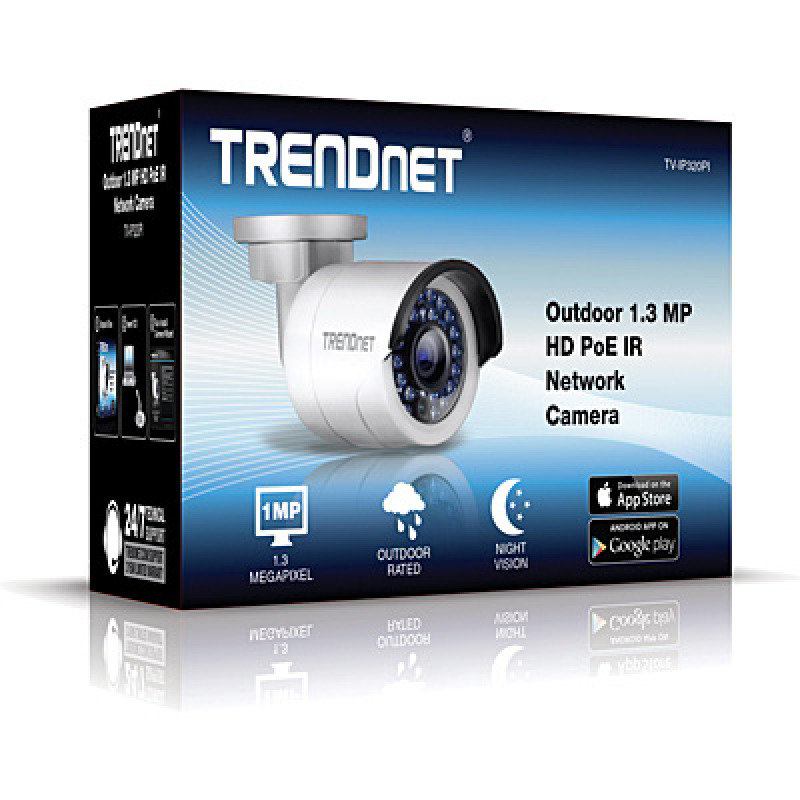 TRENDnet Outdoor 1.3 MP HD PoE IR Network Camera