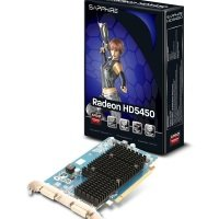 Sapphire HD 5450 1GB DDR3 Dual DVI-I PCI-E Graphics Card