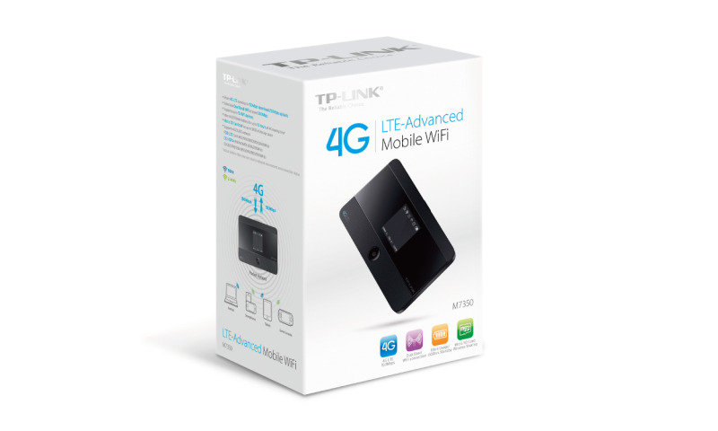 TP-Link M7350 - 4G LTE Advanced Mobile WiFi Router