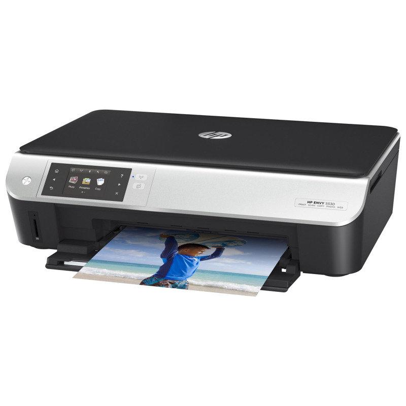 Image of HP Envy 5530 e-All-in-One Multi-Function Wireless Inkjet Printer