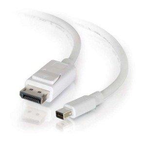 3m C2G Mini DisplayPort to DP Cable WHT