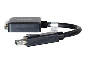 20cm DisplayPort M to DVI F BLK