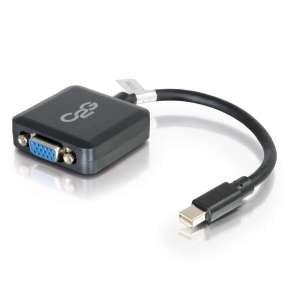 C2G 20cm Mini DisplayPort M to VGA F Black