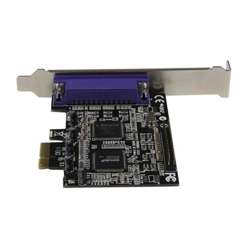 Startech 2 Port Pci Express / Pci-e Parallel Adapter Card - Ieee 1284 With Low Profile Bracket