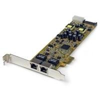 StarTech.com 2 Port PoE Card - Gigabit Ethernet NIC Adapter Card