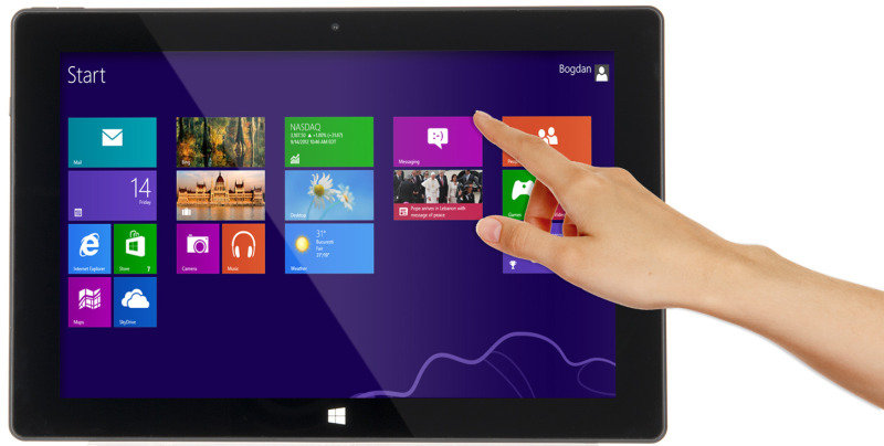 "Image of Linx 10 Tablet PC, Quad-Core Intel Baytrail-T, 2GB RAM, 32GB Flash, 10.1"" Touch, Wifi, Bluetooth, 2 Cameras, Windows - Black + Office 365 Personal 12-month Subscription"