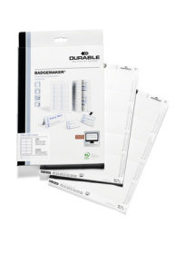 Durable Badgemaker 200 Inserts 54X90MM