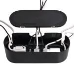 Dline Cable Tidy Unit Black