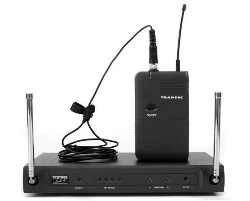 Trantec S4.4L - Guitar/Lapel Wireless Microphone System