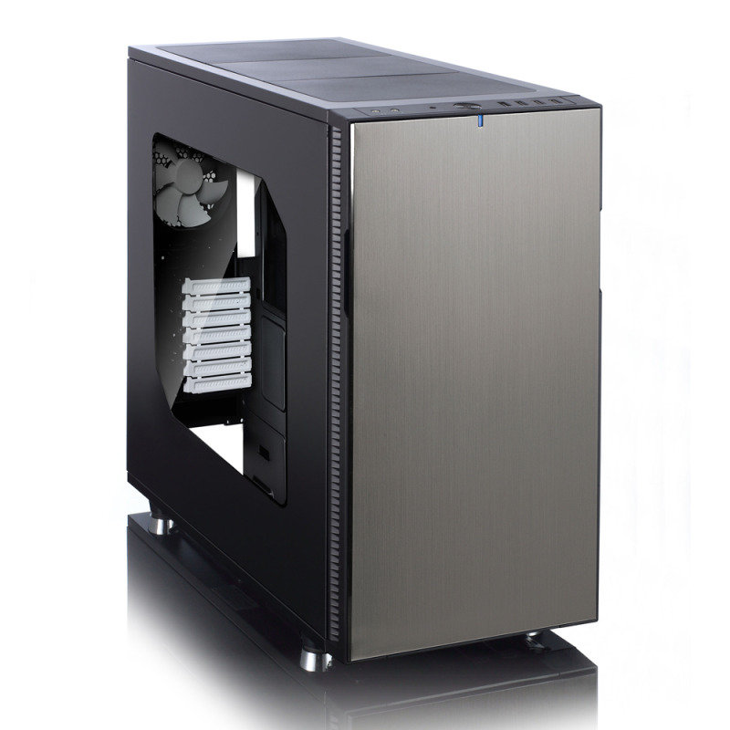 Fractal Design Define R5 Titanium grey  Window Side Panel Computer Case