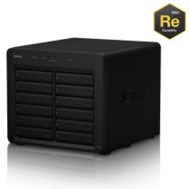 Synology DX1215 36TB (12 x 3TB WD RE) 12 Bay Desktop Expansion Unit