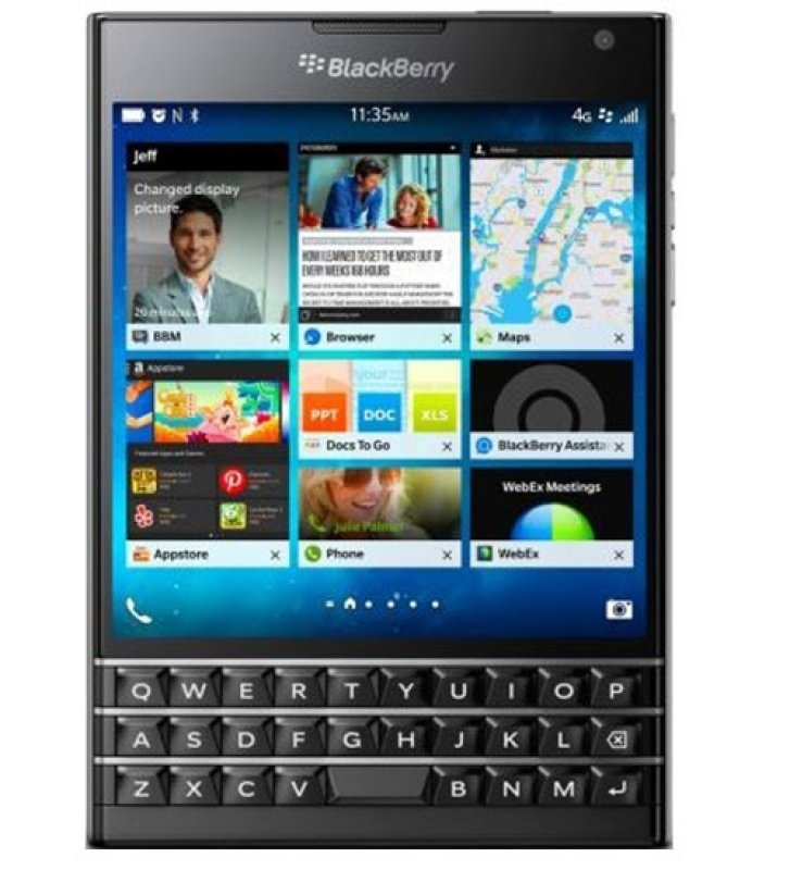 Image of PASSPORT SQW100-1 REG UK - QWERTY BLACK 4.5IN 2GB IN