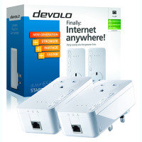 Devolo 9225 - dLAN 650+ Pass Through Powerline Starter Kit