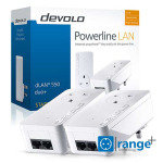 Devolo 9299 - 550 Duo+ AV 500 Pass-Through Powerline Starter Kit