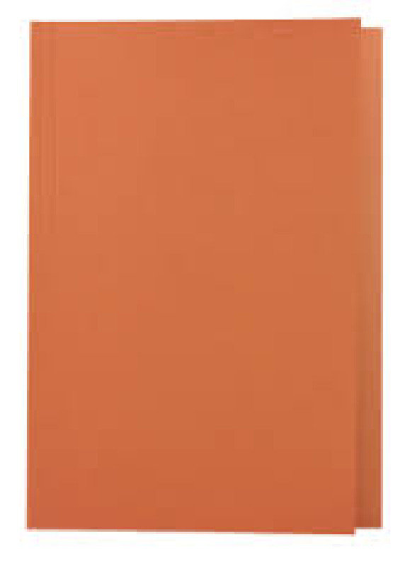 Guildhall  Squarecut Folder 270gm Orange - 100 Pack