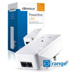 Devolo 9292 - dLAN 550 duo+ Powerline Pass Through Single Adapter
