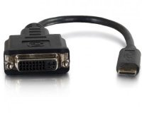 C2G HDMI Mini to Single Link DVI-D Adapter Converter Dongle - 20.3cm