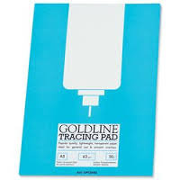 Goldline Tracing Pad A3 Light Blue