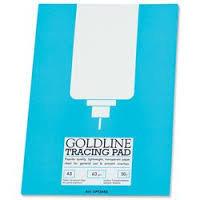 Goldline Popular Tracing Pad A3