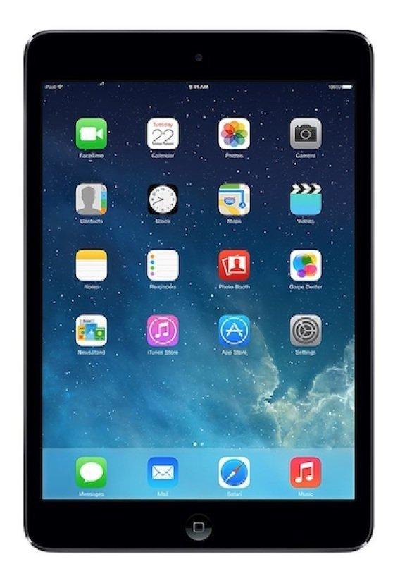 "Image of Apple iPad Mini 3 Cellular, A7 chip, 128GB Flash, 7.9"" Retina, Wifi, Cellular, Bluetooth, 2 Cameras, Apple iOS - Grey"