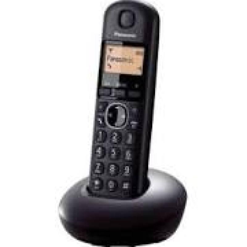 Panasonic  KX-TGB210EB Single Dect Phone Black