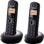 Panasonic KX-TGB212eb Twin Dect Phone - Black