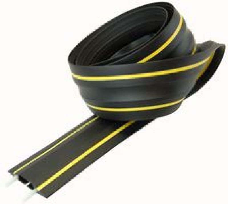 Image of Dline Floor Cable Cover Hazard Yellow & Black